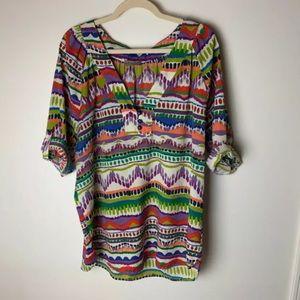West Kei Stitch Fix Women's Top Size 1X Blouse